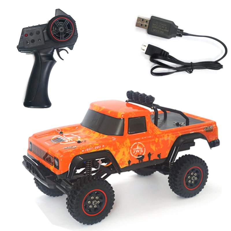 SG-1802 1:18 2.4G Rc Model Climbing Car Toy with Remote Control 20KM/H Orange