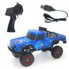 SG 1802 1 18 2 4G Rc Model Climbing Car Toy with Remote Control 20KM H blue