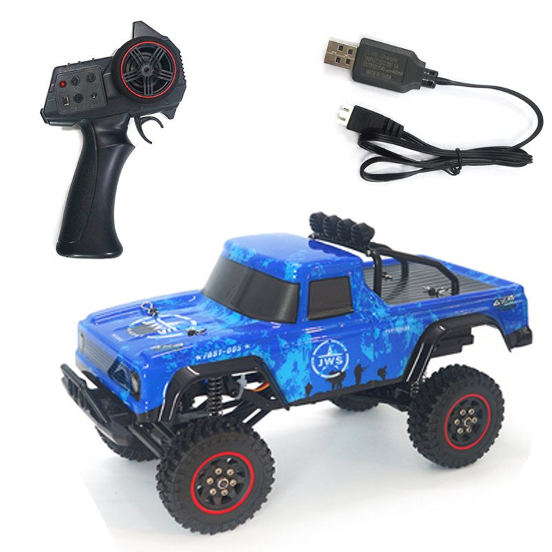 SG-1802 1:18 2.4G Rc Model Climbing Car Toy with Remote Control 20KM/H blue