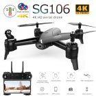 SG106 Drone with Dual Camera 1080P 720P 4K WiFi FPV Real Time Aerial Video Wide Angle Optical Flow RC Quadcopter Helicopter Toys 4K dual camera