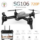SG106 Drone with Dual Camera 1080P 720P 4K WiFi FPV Real Time Aerial Video Wide Angle Optical Flow RC Quadcopter Helicopter Toys 720P single camera