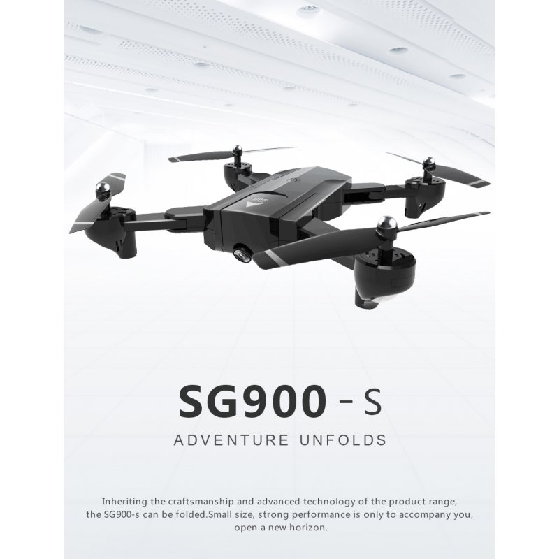 SG900-S Foldable Quadcopter With Camera