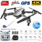 SG907 GPS Drone with Camera 4K 5G Wifi RC Quadcopter Optical Flow Foldable Mini Dron 1080P HD Camera Drone 4K 3 batteries