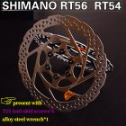SHIMANO Disc Brake Rotor RT54 RT56 Center Lock Suit XT SLX DEORE 160mm 180mm Bike Brake Disc  RT56 160MM one piece