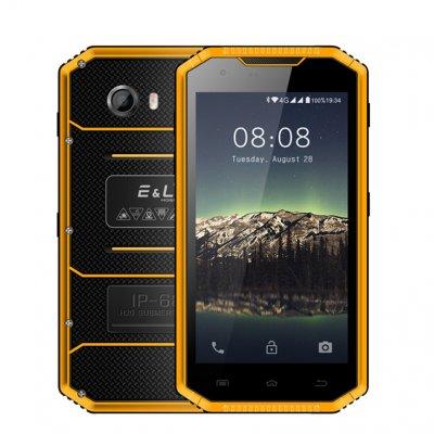 Wholesale El W7s Ip68 Waterproof Mobile Phone Yellow1 From