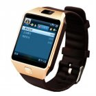 SIMU Sports Smart Watch SIM Card  Bluetooth 3.0 Message Reminder Electronic Watch Golden
