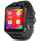 SIMU Sports Smart Watch SIM Card  Bluetooth 3.0 Message Reminder Electronic Watch black