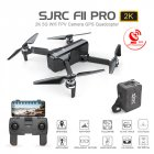 SJ RC F11 PRO 5G Wifi FPV GPS Brushless RC Drone 2K Camera with Storage Bag 3 battery