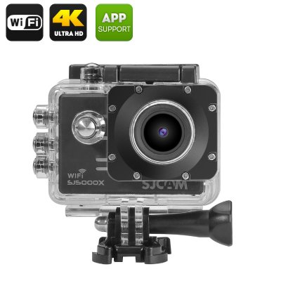 SJCAM SJ5000X Elite 2K Action Camera (Black)