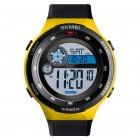 SKMEI 1465 Men Luxury Sport Watch Yellow
