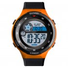 SKMEI 1465 Men Luxury Sport Watch Orange