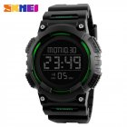 SKMEI Men Sport Watch Waterproof Fashion Outdoor Noctilucent Electronic Watch green