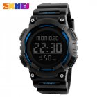 SKMEI Men Sport Watch Waterproof Fashion Outdoor Noctilucent Electronic Watch blue