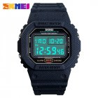 SKMEI Outdoor Sport Men Watch Denim Blue