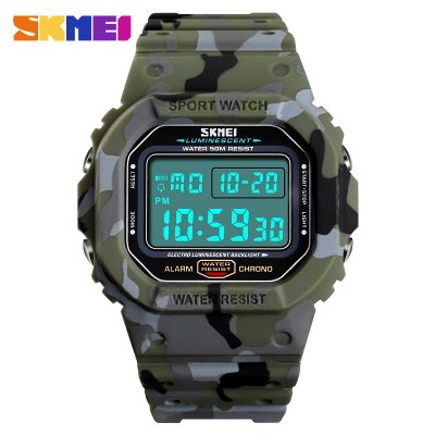 SKMEI Outdoor Sport Men Watch Camouflage