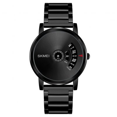 SKMEI Men Watch Black Shell gun surface