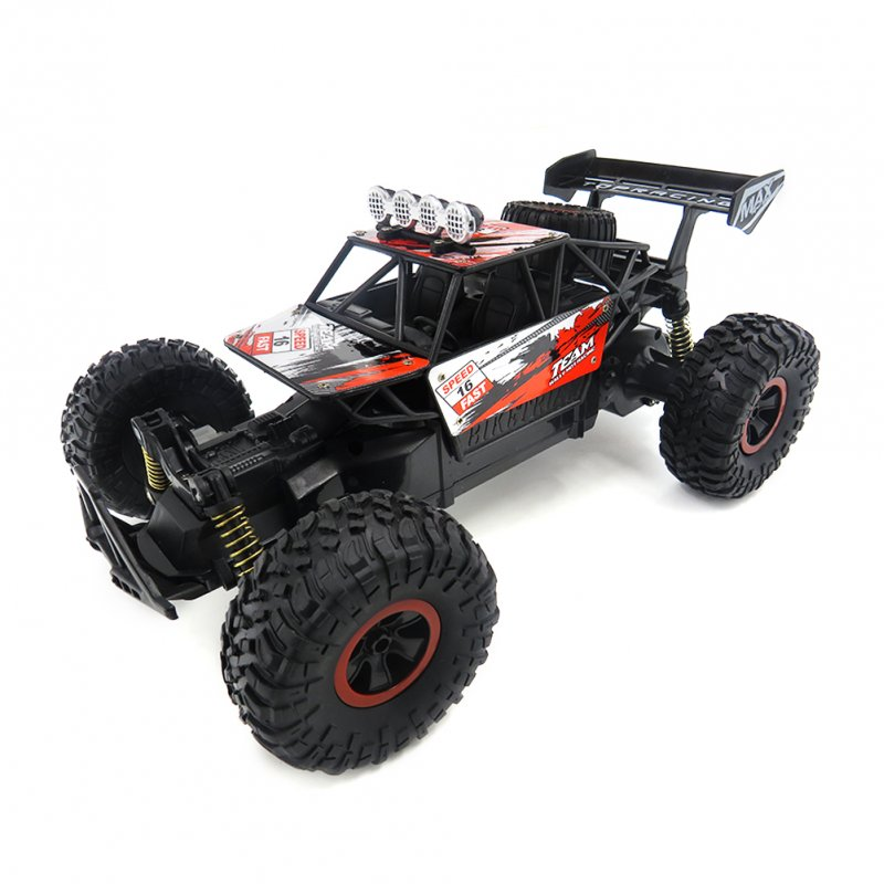 SL-156A 1/18 2.4G 4WD Drift Racing Rc Car High Speed Off-road Truck Rock Crawler Toys  red_1/18