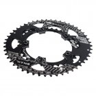 SNAIL Oval Chainring 110bcd Road Bike 50T/35T Double Bicycle Chain Ring Cycling Chainwheel Disc Bike Parts Black