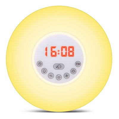 Wholesale Solled Wake Up Sunrise Simulation Clock Light From