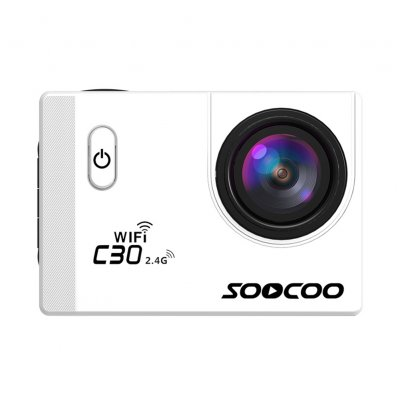 SOOCOO C30R Wifi Sports Action Camera White