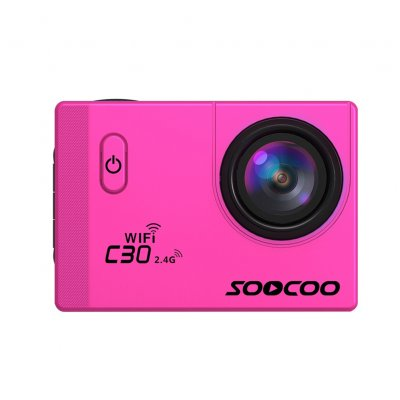 SOOCOO C30R Wifi 4K Sports Action Camera Pink