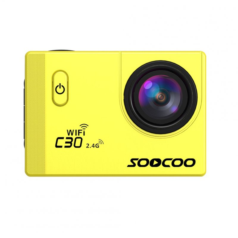 SOOCOO C30R Wifi Sports Action Camera Yellow