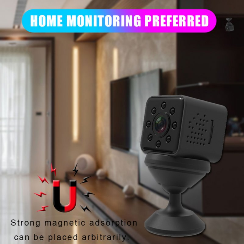 SQ23 HD WIFI Mini Camera Black