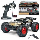 SUBOTECH BG1518 1/12 2.4G 4WD High Speed 35Km/h Off-Road Partial Waterproof RC Car gold