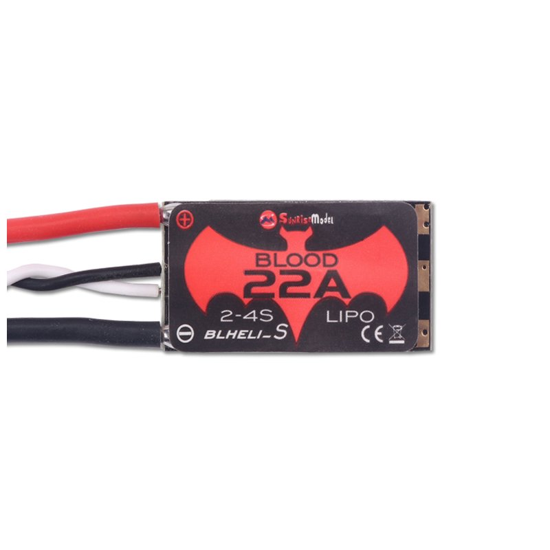 SUNRISE MODEL 22A Lites 22A Blheli_S 16.5 BB2 2-4S Brushless ESC Support Dshot600 for RC FPV Racing Drone  ACP003