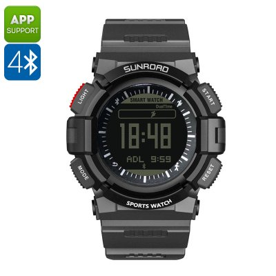 Sunroad FR9211B Sport Watch