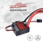 SURPASS Hobby Brush 60A ESC For 1/10 Crawler RC Car Parts Black red