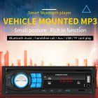 SWM 8013 1DIN12V Bluetooth Stereo Auto Radio Car Radio In dash FM Aux Input Receiver SD USB MP3 MMC WMA Car Audio Player 8013 black