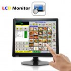 Same price as a regular monitor  twice as effective   get this amazing 17 Inch Touchscreen LCD with VGA to help increase efficiency and boost productivity now