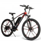 Samebike MY-SM26 Smart Folding Electric Bike with LCD Display Red black