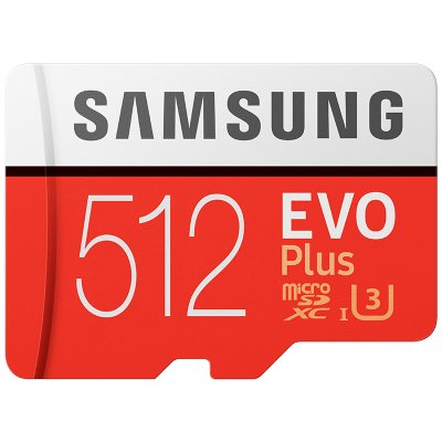 Samsung 512GB TF Card - Red