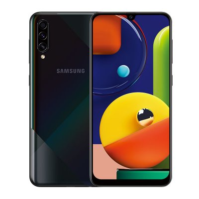 Samsung Galaxy A50S 6GB 128GB 6.4inches FHD+ Super Infinity U-display Octa-Cor 48MP 4000mAh Battery NFC Android Smartphone black_6+128GB