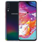 Samsung Galaxy A70 A7050 Mobile Phone 6 7  6GB RAM 128GB ROM Water Drop Screen NFC CellPhone  Laser Black