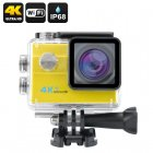 4K Wi-Fi Waterproof Sports Camera (Yellow)