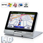 Say hello to the powerful GPS navigator that has it all   Navitron 5 Inch HD GPS Navigator  Your guide to the world