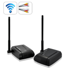 Say no to wires  This incredible AV communication system features a wireless audio video transmitter and receiver