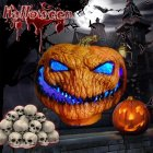 Scary Halloween Series Pumpkin Lamp Spirit Festival Party Decorative Prop Length 35CM width 25CM height 30CM