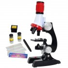 Science Kits for Kids Beginner Microscope with LED 100X 400X and 1200X Science Educational Toy Gift
