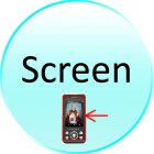 Screen for CVDQ M150 Inspire   Quadband Touchscreen Dual SIM Cellphone   DVB T