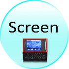 Screen for CVDQ M160 Balance   Mini Slider Cellphone  QWERTY  Dual SIM  Touchscreen