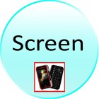 Screen for CVFD M137 Gunslinger China Cell Phone with Keyboard and Swivel Touchscreen