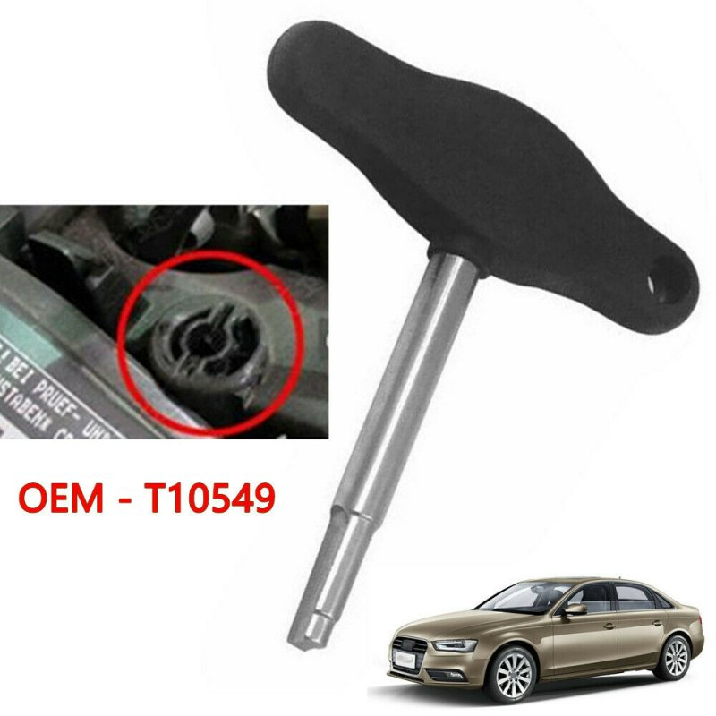 Screw Plastic Oil Drain Plug Removal Installer Wrench Assembly Tool