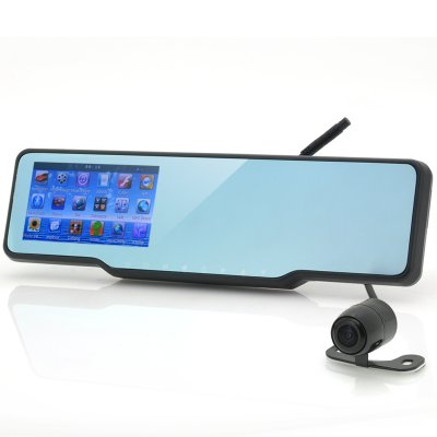 Car Bluetooth Rearview Mirror Kit