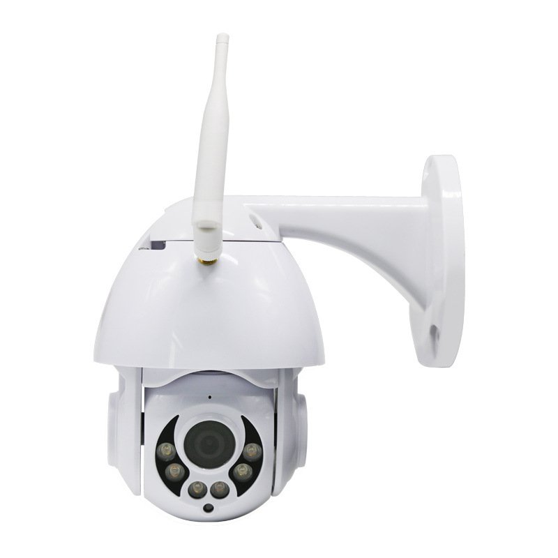 Security IP Camera 1920*1080P 2 Million Pixels Outdoor Waterproof Wireless WIFI Surveillance Camera white_AU Plug