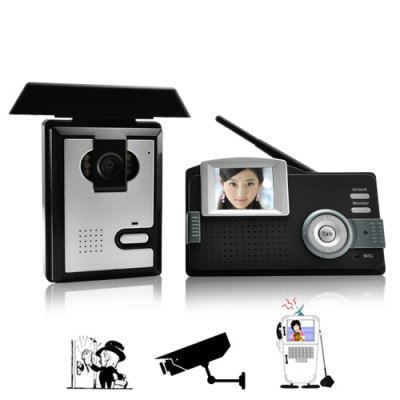 Wireless AV Intercom Entry System