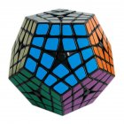 Sengso Magic Cube with Sticker Speed Cube Toy for Kids Adults black